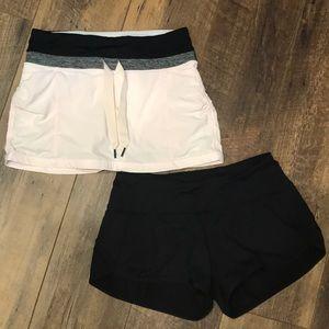 RARE Lululemon skirt PLUS free black shorts